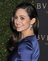 WWW.BLUESTAR-IMAGES.COM  Actress Emmy Rossum arrives at the BVLGARI 'Decades Of Glamour' Oscar Party Hosted By Naomi Watts at Soho House on February 25, 2014 in West Hollywood, California.<br /> Photo: BlueStar Images/OIC jbm1005  +44 (0)208 445 8588