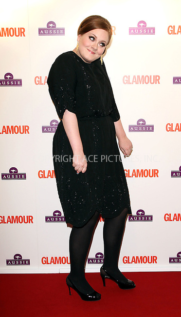 WWW.ACEPIXS.COM . . . . .  ..... . . . . US SALES ONLY . . . . .....June 2 2009, London....Adele arriving at the Glamour Women of the Year Awards 2009 at Berkeley Square Gardens on June 2, 2009 in London.......Please byline: FAMOUS-ACE PICTURES... . . . .  ....Ace Pictures, Inc:  ..tel: (212) 243 8787 or (646) 769 0430..e-mail: info@acepixs.com..web: http://www.acepixs.com