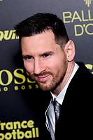Lionel Messi<br /> Parigi 02-12-2019 <br /> Calcio <br /> Pallone D'oro 2019 <br /> Golden Ball 2019 <br /> Ballon d'or 2019 <br /> Foto JB Autissier / Panoramic / Insidefoto