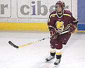 JT Dahlinger - The Boston College Eagles and Ferris State Bulldogs tied at 3 in the opening game of the Denver Cup on Friday, December 30, 2005, at Magness Arena in Denver, Colorado.  Boston College won the shootout to determine which team would advance to the Final.