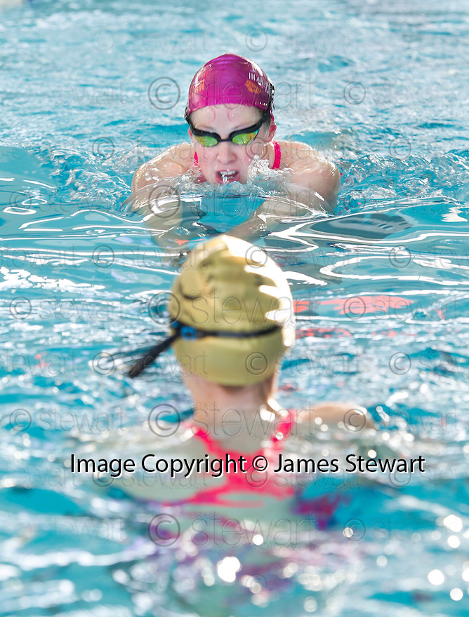 Hannah Miley coaches members of the Falkirk Integrated Regional Swim Team