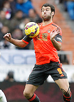 Real Sociedad's Imanol Agirretxe during La Liga match.January 31,2015. (ALTERPHOTOS/Acero) /NortePhoto<br />