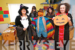 Maine Valley Childcare are getting into the spirit of Halloween with a very special Scarecrow competition, a party and a children's Halloween camp. <br /> Front L-R Eileen Courtney (pre-school teacher) and Belinda Anderson (supervisor at Maine Valley Childcare) <br /> Back L-R Sandra Healy (pre-school teacher) and Aine O'Connor (student childcare placement).
