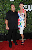 10 August 2016 - West Hollywood, California. Kevin James, Erinn Hayes. 2016 CBS, CW, Showtime Summer TCA Party held at Pacific Design Center. Photo Credit: Birdie Thompson/AdMedia