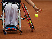 August 6, 2014, Netherlands, Rotterdam, TV Victoria, Tennis, National Junior Championships, NJK,  Wheelchair,  Mitchel Graauw (NED)<br /> Photo: Tennisimages/Henk Koster