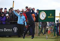 Jordan Spieth (USA) during Round One of the 148th Open Championship, Royal Portrush Golf Club, Portrush, Antrim, Northern Ireland. 18/07/2019. Picture David Lloyd / Golffile.ie<br /> <br /> All photo usage must carry mandatory copyright credit (© Golffile | David Lloyd)
