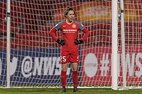 Bridgeview, IL - Saturday March 31, 2018: Meghan Klingenberg during a regular season National Women's Soccer League (NWSL) match between the Chicago Red Stars and the Portland Thorns FC at Toyota Park.