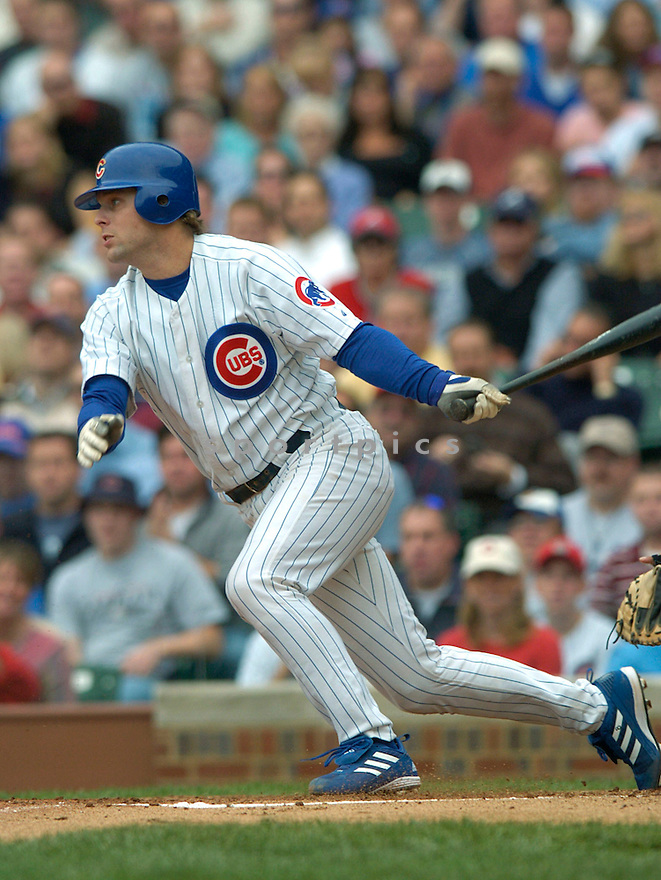 Michael Barrett during a Chicago Cubs game 2004...David Durochik / SportPics