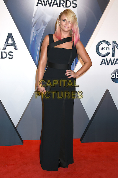 4 November 2015 - Nashville, Tennessee - Miranda Lambert. 49th CMA Awards, Country Music's Biggest Night, held at Bridgestone Arena. <br /> CAP/ADM/LF<br /> &copy;LF/ADM/Capital Pictures