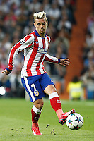 Atletico Madrid´s French forward Antoine Griezmann