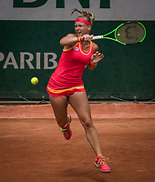 Paris, France, 31 May, 2017, Tennis, French Open, Roland Garros, Kiki Bertens (NED)<br /> Photo: Henk Koster/tennisimages.com