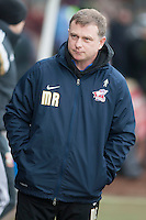 Mark Robins Manager of Scunthorpe Utd<br />  - Scunthorpe United vs Swindon Town - Sky Bet League One Football at Glanford Park, Scunthorpe, Lincolnshire - 14/02/15 - MANDATORY CREDIT: Mark Hodsman/TGSPHOTO - Self billing applies where appropriate - contact@tgsphoto.co.uk - NO UNPAID USE