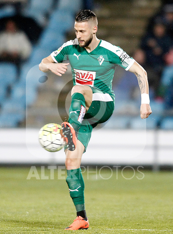 Sociedad Deportiva Eibar's David Junca during La Liga match. March 18,2016. (ALTERPHOTOS/Acero)