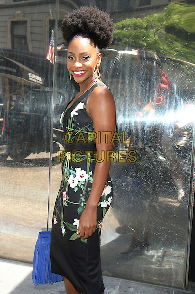 NEW YORK, NY-June 02: Teyonah Parris at Good Day New York to talk about the Blu-Ray of CHi-RAQ in New York. NY June 02, 2016.  <br /> CAP/MPI/RW<br /> &copy;RW/MPI/Capital Pictures