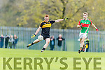 Johnny Buckley Dr Crokes in Action against John McGrath Loughmore-Castleiney in the Munster Senior Club Semi-Final at Crokes Ground, Lewis Road on Sunday