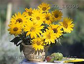 Interlitho, FLOWERS, photos+++++,sunflowers,vase,KL16396,#f# Blumen, Natur, flores, naturaleza