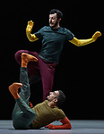 William Forsythe A Quite Evening of Dance London UK 3rd October 2018 Rauf Yasit & Ander Zabala Gomez at Sadlers Wells Theatre London UK