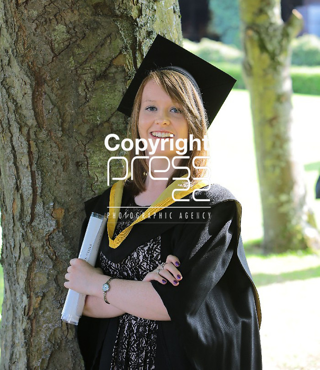 28/8/2013  Attending the University of Limerick conferrings was Emma Hanley, Hollyford, Tipperary who was conferred with BSc in Energy. Picture Liam Burke/Press 22