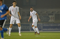 Robbie Tinkler Of England C and Gateshead FC during England C vs Estonia Under-23, International Friendly Match Football at The Breyer Group Stadium on 10th October 2018