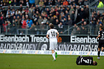 GER - Sandhausen, Germany, March 19: During the 2. Bundesliga soccer match between SV Sandhausen (white) and FC ST. Pauli (grey) on March 19, 2016 at Hardtwaldstadion in Sandhausen, Germany. (Photo by Dirk Markgraf / www.265-images.com) *** Local caption *** Bernd Nehrig #7 of FC St. Pauli