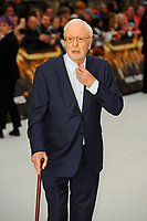 LONDON, ENGLAND - SEPTEMBER 12: Sir Michael Caine attending the World Premiere of 'King Of Thieves' at Vue West End, Leicester Square on September 12, 2018 in London, England.<br /> CAP/MAR<br /> &copy;MAR/Capital Pictures