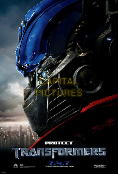 POSTER ART (PROTECT).in Transformers .**Editorial Use Only**.CAP/FB.Supplied by Capital Pictures