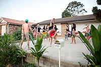 AUSTRALIAN MUSEUM - COOK ISLAND DANCERS