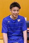 Kenichi Hayakawa (JPN), JULY 19, 2016 - Badminton : Training for Rio Olympic Games in Tokyo, Japan. (Photo by Sho Tamura/AFLO SPORT)