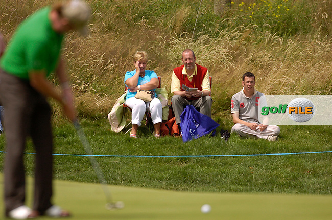 July 6th, 2006. Smurfit European Open, The K Club, Straffan, County Kildare..Spain's Miguel Angel Himenez at the above..Photo: BARRY CRONIN/Newsfile..(Photo credit should read BARRY CRONIN/NEWSFILE).