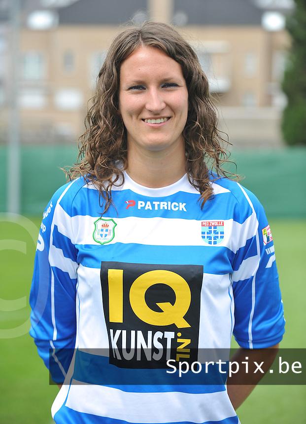 PEC Zwolle : Lisanne Vermeulen .foto DAVID CATRY / Vrouwenteam.be