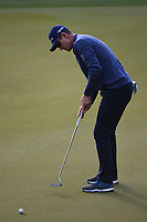 Justin Rose (GBR) watches his putt on 3 during day 4 of the WGC Dell Match Play, at the Austin Country Club, Austin, Texas, USA. 3/30/2019.<br /> Picture: Golffile | Ken Murray<br /> <br /> <br /> All photo usage must carry mandatory copyright credit (© Golffile | Ken Murray)