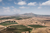 ISRAEL, Golan Heights in the North, and 'Golan Heights' vineyards