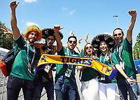 Mexikanische Fans freuen sich auf das Spiel - 17.06.2018: Deutschland vs. Mexico, Luzhniki Stadium Moskau