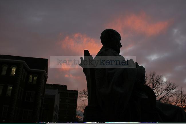 Patterson statue. Photo by David LaBelle