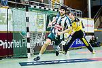 Stockholm 2014-03-02 Handboll Elitserien Hammarby IF - Ystads IF :  <br /> Hammarbys Kasper Ottesen har gjort m&aring;l i den andra halvleken<br /> (Foto: Kenta J&ouml;nsson) Nyckelord:  Ystad Bajen HIF jubel gl&auml;dje lycka glad happy