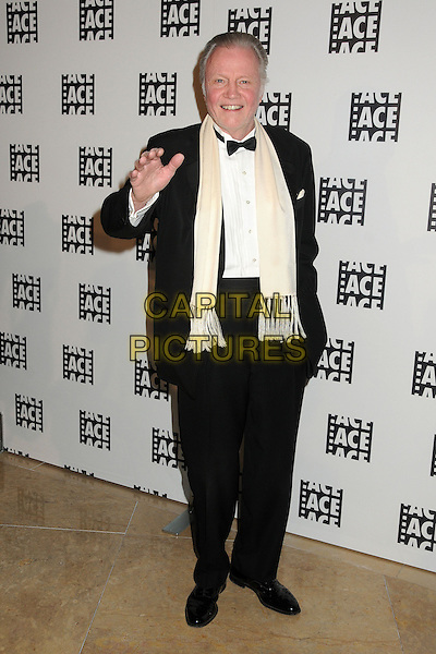 Jon Voight.63rd Annual ACE Eddie Awards at the Beverly Hilton, Beverly Hills, California, USA..16th February 2013.full length hand arm waving black bow tie white shirt tuxedo cream scarf   .CAP/ADM/BP.©Byron Purvis/AdMedia/Capital Pictures
