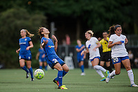 Seattle, Washington - Saturday, July 2nd, 2016: Seattle Reign FC forward Nahomi Kawasumi (36) reacts during a regular season National Women's Soccer League (NWSL) match between the Seattle Reign FC and the Boston Breakers at Memorial Stadium. Seattle won 2-0.
