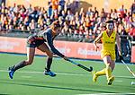 UTRECHT - Frederique Matla (Ned)  tijdens   de Pro League hockeywedstrijd wedstrijd , Nederland-China (6-0) .  COPYRIGHT  KOEN SUYK
