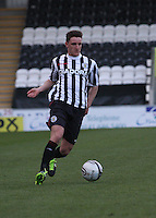 Ross Meechan in the St Mirren v Falkirk Clydesdale Bank Scottish Premier League Under 20 match played at St Mirren Park, Paisley on 30.4.13.