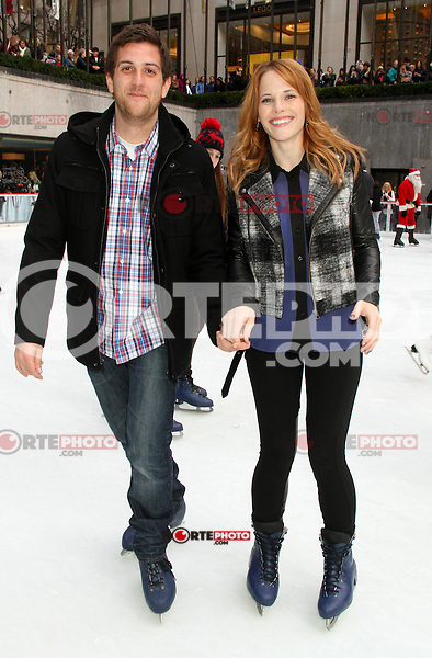 NEW YORK, NY - DECEMBER 2: Katie Leclerc at ABC Family's 25 Days of Christmas Winter Wonderland event at Rockefeller Center in New York City. December 2, 2012. Credit: RW/MediaPunch Inc. ©/NortePhoto /NortePhoto© /NortePhoto /NortePhoto