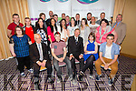 Michéal Ó Muircheartaigh presenting certificates to students from the Sporting Chance and Direction Courses in the National Learning Network Tralee at Fels Point Hotel on Friday
