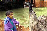 Children at the Collon Animal Sanctuary open day..Picture Paul Mohan Newsfile