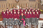 Boy's  of Listowel National School  who were confirmed by Bishop Bill Murphy on Thursday ..   Copyright Kerry's Eye 2008