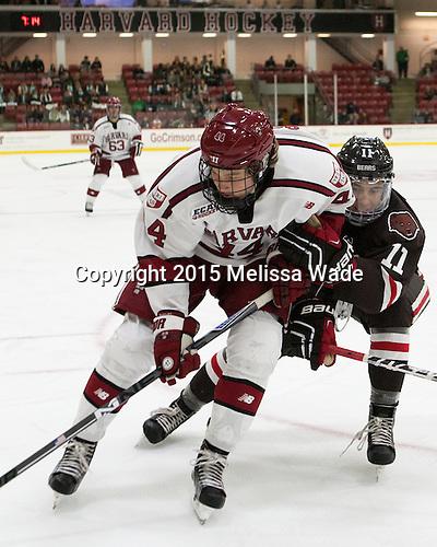 Michael Floodstrand (Harvard - 44), Max Gottlieb (Brown - 11) - The Harvard University Crimson defeated the visiting Brown University Brown Bears 5-2 (EN) on Saturday, November 7, 2015, at Bright-Landry Center in Boston, Massachusetts.