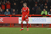 Jordan Tunnicliffe of Crawley Town during Crawley Town vs Oldham Athletic, Sky Bet EFL League 2 Football at Broadfield Stadium on 7th March 2020