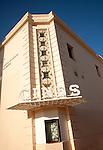 Cines cinema building sign central Malaga Spain