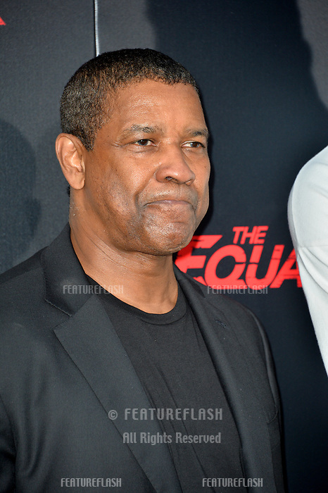 """Denzel Washington at the premiere for """"The Equalizer 2"""" at the TCL Chinese Theatre, Los Angeles, USA 17 July 2018<br /> Picture: Paul Smith/Featureflash/SilverHub 0208 004 5359 sales@silverhubmedia.com"""
