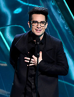 LOS ANGELES - DECEMBER 6: Presenter Brendon Urie appears onstage at the 2018 Game Awards at the Microsoft Theater on December 6, 2018 in Los Angeles, California. (Photo by Frank Micelotta/PictureGroup)