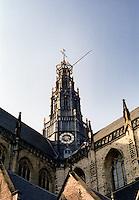 The Oude Kerk church in Amsterdam (Netherlands, 12/04/1991)