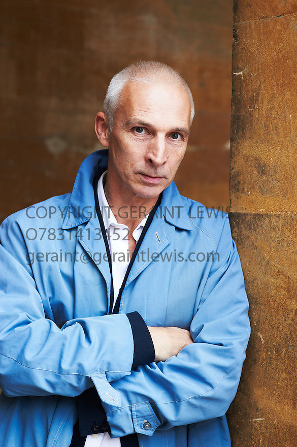 Rupert Thompson,Novelist and writer at Blenheim Palace at The Woodstock Literary Festival 2010 .CREDIT Geraint Lewis